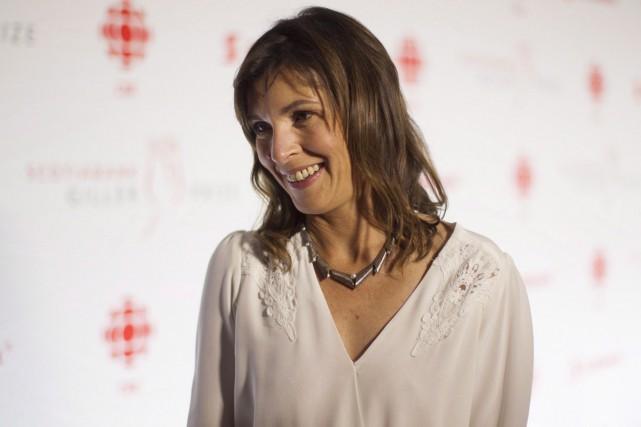 Rachel Cusk a été sélectionnée pour son roman... (PHOTO LA PRESSE CANADIENNE)