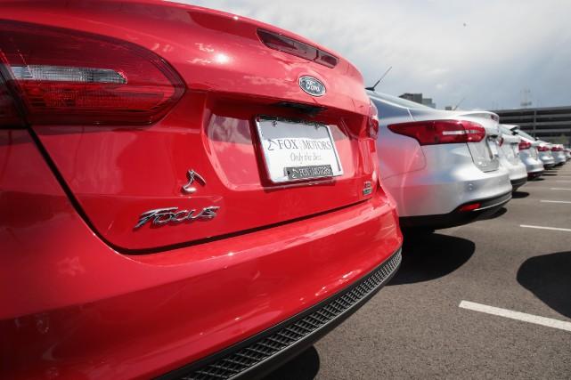 Les ventes de nouvelles voitures au mois de... (AFP)