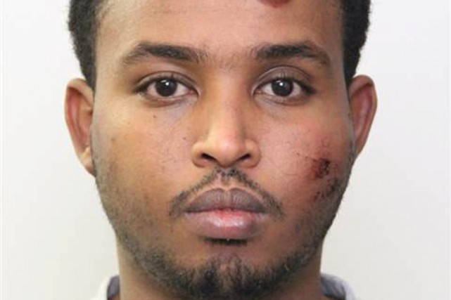 Abdulahi Hasan Sharif fait face à cinq chefs... (PHOTO REUTERS)
