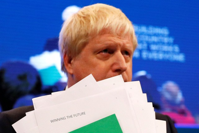 La carrière politique de Boris Johnson a été... (PHOTO REUTERS)