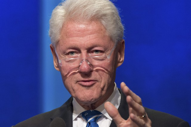 Bill Clinton... (Photo Bryan R. Smith, archives Agence France-Presse)
