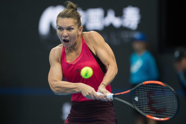 Simona Halep... (Photo Nicolas Asfouri, AFP)