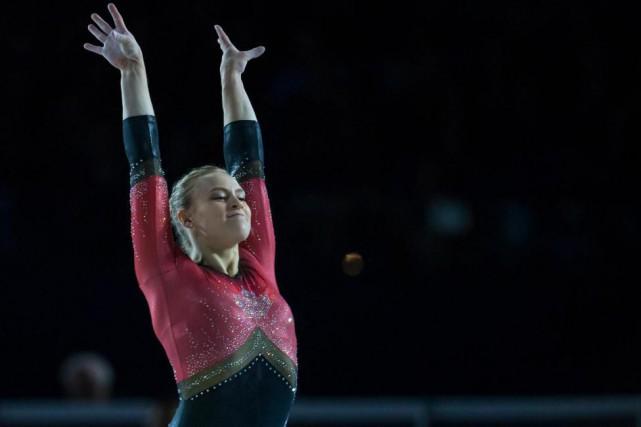 La Canadienne Ellie Black a éclipsé la concurrence,... (Photo Olivier Jean, La Presse)