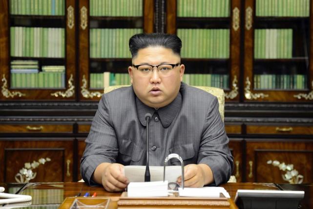 «Au-delà des fanfaronnades, Kim Jong-un est une personne... (AP)