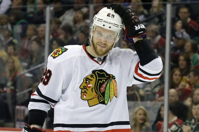 Bryan Bickell... (Photo Ann Heisenfelt, archives AP)