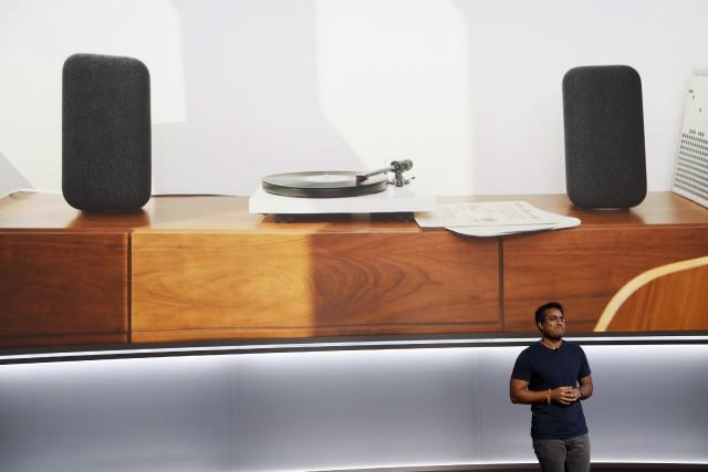 Richi Chandra, directeur chez Google, a notamment présenté... (Photo Stephen Lam, REUTERS)