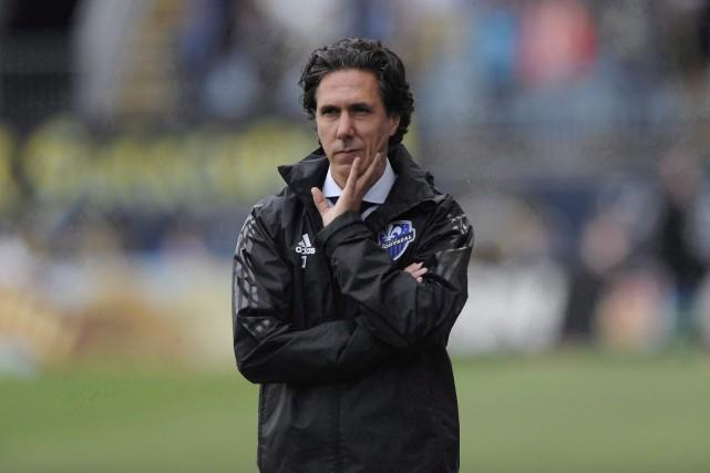 Les rumeurs concernant le congédiement del'entraîneur-chef de l'Impact... (Photo Michael Perez, archives AP)