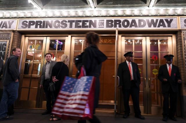 Bruce Springsteen se produit depuis mardi et pendant... (PHOTO AFP)