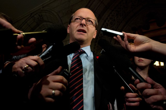 Le sénateur conservateur Claude Carignan... (PHOTO ARCHIVES LA PRESSE CANADIENNE)