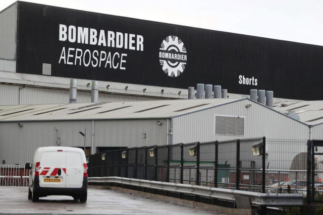 L'usine de Bombardier à Belfast est le plus... (PhotoBrian Lawless, Archives Associated Press)