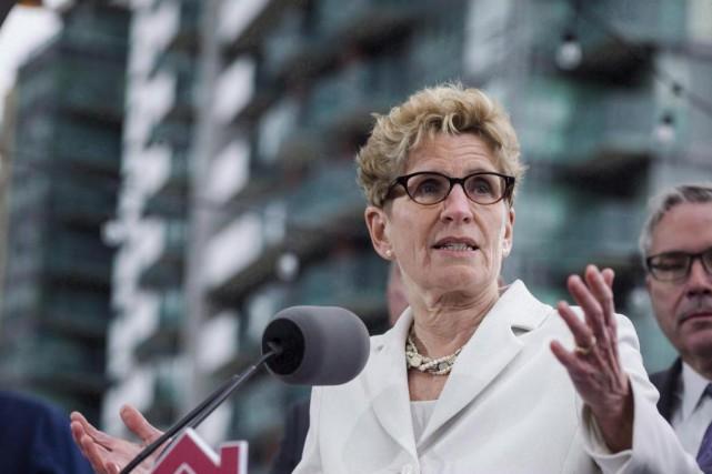 La première ministre ontarienne Kathleen Wynne a récemment... (PhotoChristopher Katsarov, Archives La Presse canadienne)