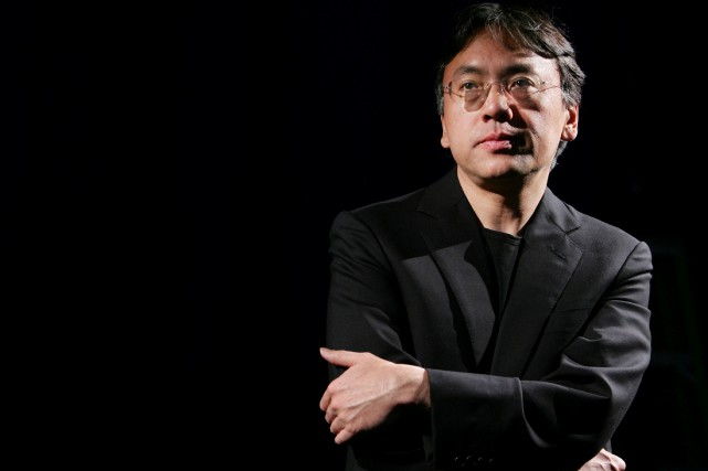 Kazuo Ishiguro... (Photo Mike Segar, REUTERS)