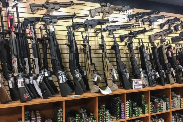 À Las Vegas, dans l'État du Nevada où... (AFP)