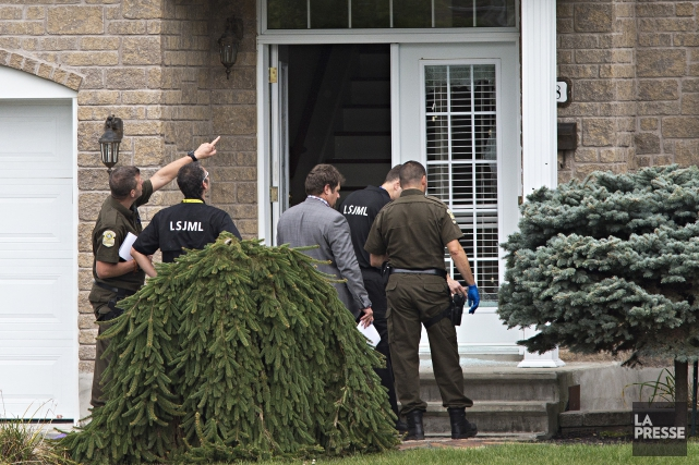 Alain Castonguay est soupçonné d'avoir assassiné sa conjointe,... (Photo Patrick Sanfacon, La Presse)