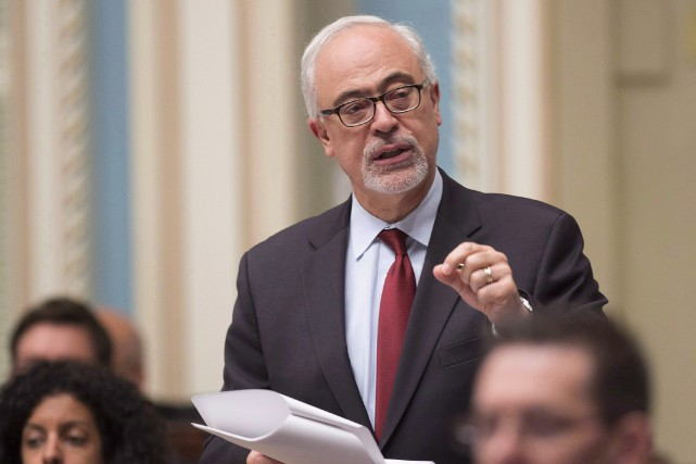 Le ministre des Finances du Québec, Carlos Leitão.... (THE CANADIAN PRESS)