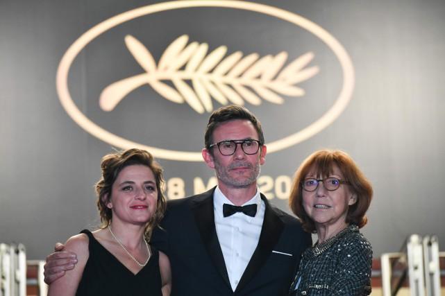Anne Wiazemsky (à droite) à Cannes en mai... (PHOTO ARCHIVES AFP)