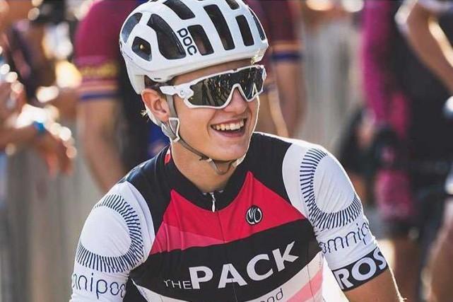 Clément Ouimet, un cycliste de 18 ans de... (PHOTO GABRIEL LALONDE-FRANCOEUR (TIRÉE DE FACEBOOK))