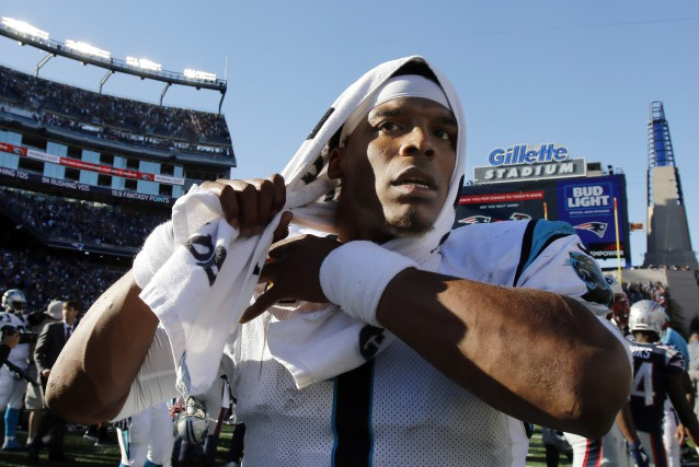 Cam Newton... (Photo Bill Sikes, AP)