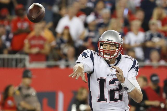 Tom Brady... (Photo Reinhold Matay, USA Today Sports)