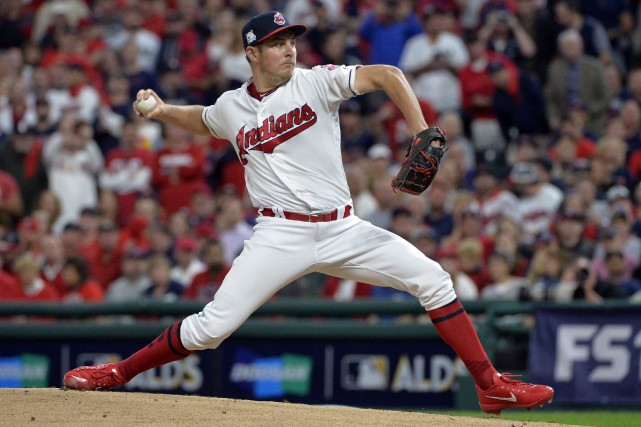 Trevor Bauer... (Photo Phil Long, Associated Press)