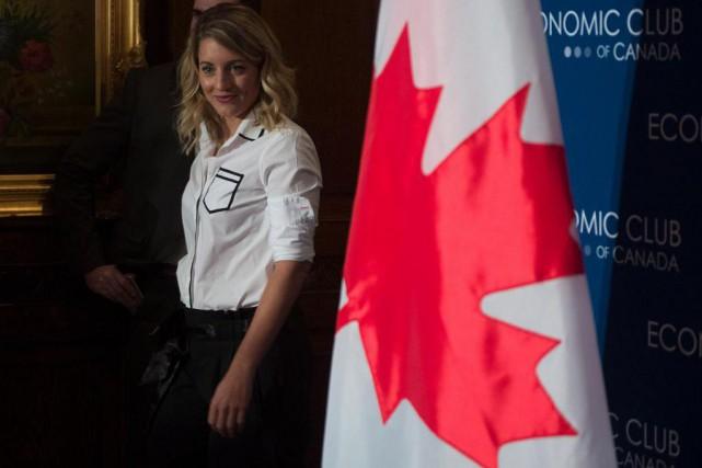 Mélanie Joly... (PHOTO ADRIAN WYLD, ARCHIVES LA PRESSE CANADIENNE)