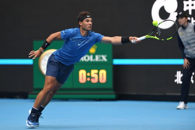 Rafael Nadal... (Photo Greg Baker, AFP)