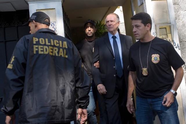 L'ex-président du comité d'organisation des Jeux olympiques de... (Photo Mauro Pimentel, AFP)