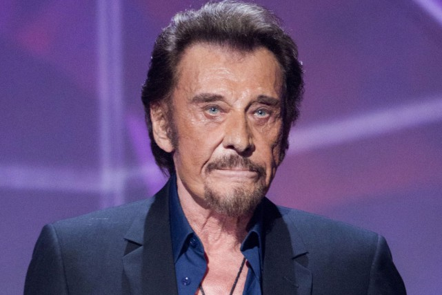 Johnny Hallyday... (PHOTO ARCHIVES AP)