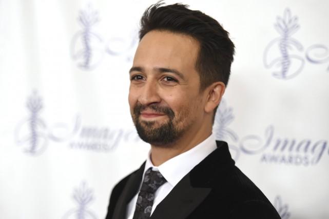 Le créateur de Hamilton, Lin-Manuel Miranda, a lancé une nouvelle... (PHOTO ARCHIVES AP)