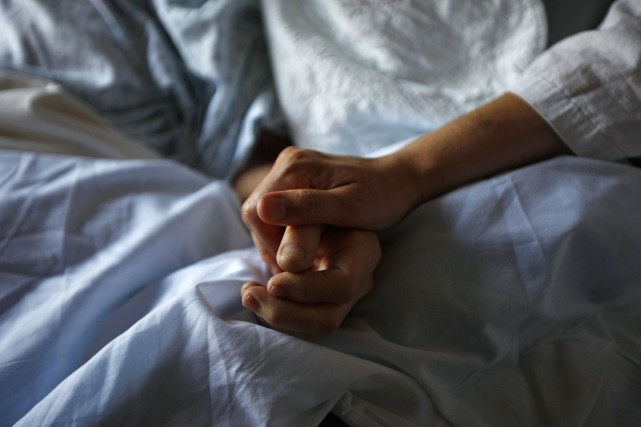 Le nombre de patients qui se sont prévalus de l'aide médicale à mourir au... (Photo archives Reuters)