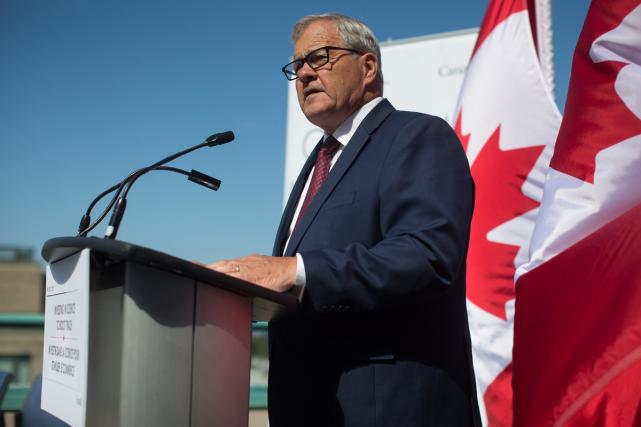 Le ministre fédéral de l'Agriculture et de l'Agroalimentaire,... (PHOTO ARCHIVES LA PRESSE CANADIENNE)