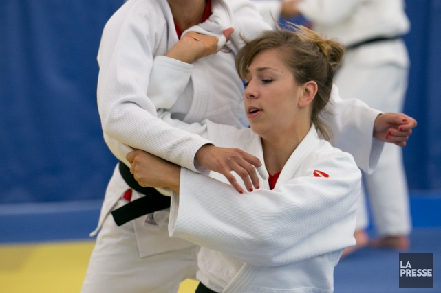 Catherine Beauchemin-Pinard à l'entrainement.... (PHOTO MARTIN TREMBLAY, archives LA PRESSE)