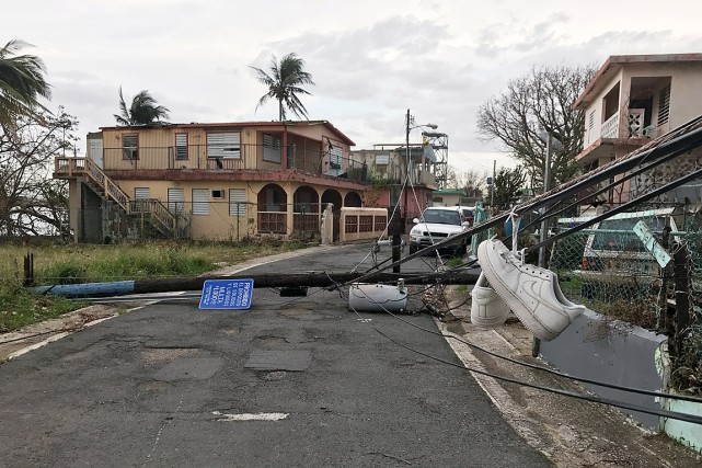 « Plus de deux semaines après que l'ouragan Maria... (PHOTO NICK BROWN, REUTERS)