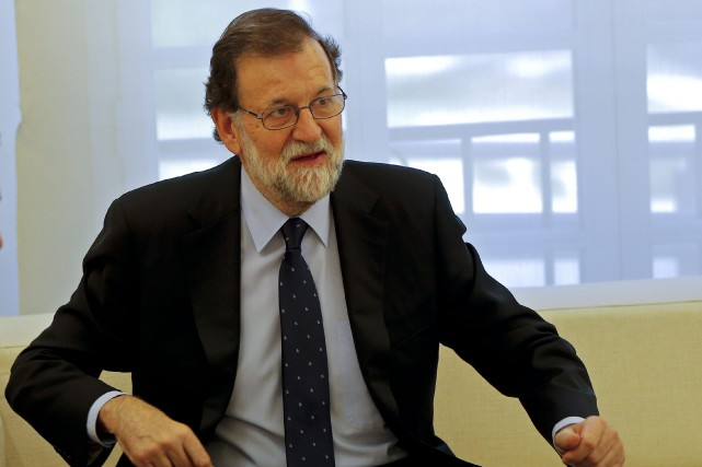 Le premier ministre espagnol Mariano Rajoy... (Photo Paul White, AP)