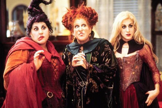 Kathy Najimy, Bette Midler et Sarah Jessica Parker... (photo fournie par Walt Disney Pictures)