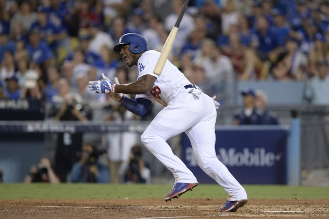 Yasiel Puig... (Photo Gary A. Vasquez, USA Today Sports)