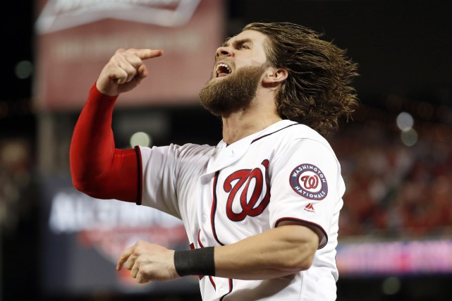 Bryce Harper... (Photo Alex Brandon, Associated Press)