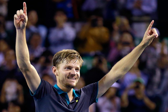 David Goffin... (PHOTO SHIZUO KAMBAYASHI, ASSOCIATED PRESS)