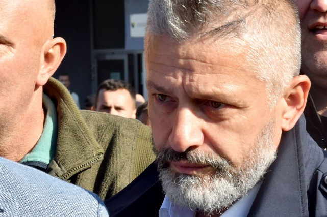 Naser Oric... (Photo ELVIS BARUKCIC, Agence France-Presse)