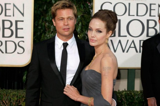 Brad Pitt et Angelina Jolie en 2016... (Photo archives Associated Press)