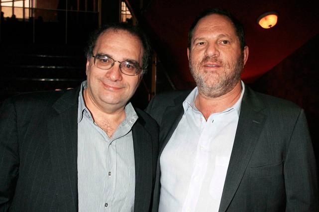 Les frères Bob et Harvey Weinstein ont fondéThe... (REUTERS)