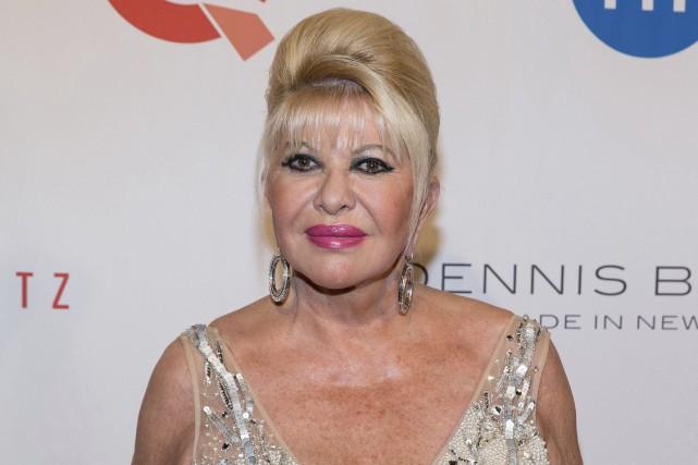Ivana Trump, 68 ans, est la mère des... (ARCHIVES AP)