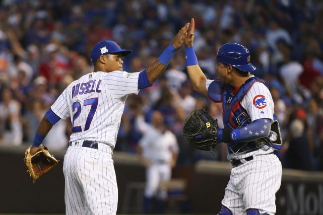 Un après un championnat historique, Anthony Rizzo et les Cubs de Chicago se... (PHOTO REUTERS)
