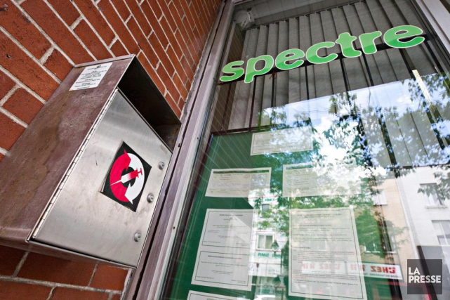 L'organisme Spectre derue ouvrira un service d'injection supervisée.... (Photo Patrick Sanfaçon, Archives La Presse)