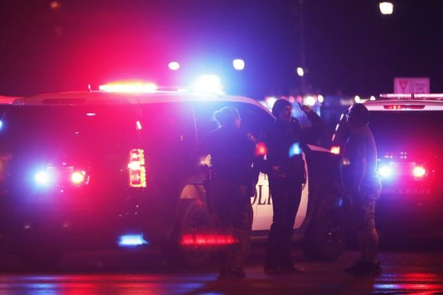 Un policier de l'Université Texas Tech a été tué par balle aux bureaux de la... (PHOTO AP)