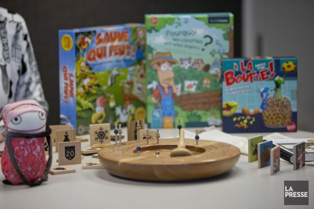 Des jeux et des jouets faits au Québec.... (Photo David Boily, archives La Presse)