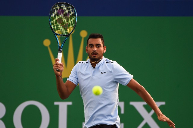 Nick Kyrgios... (Photo Chandan Khanna, AFP)