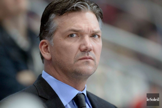 L'entraîneur-chef des Remparts de Québec, Philippe Boucher.... (Photo archives Le Soleil)