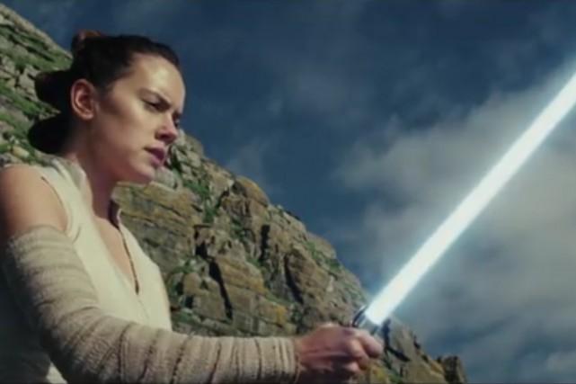 La société de production Lucasfilm tient en haleine les fans de Star... (CAPTURE D'ÉCRAN)