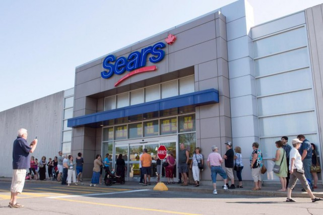 Sears Canada a épongé une perte de 144 millions au... (Photo Ryan Remiorz, archives La Presse canadienne)